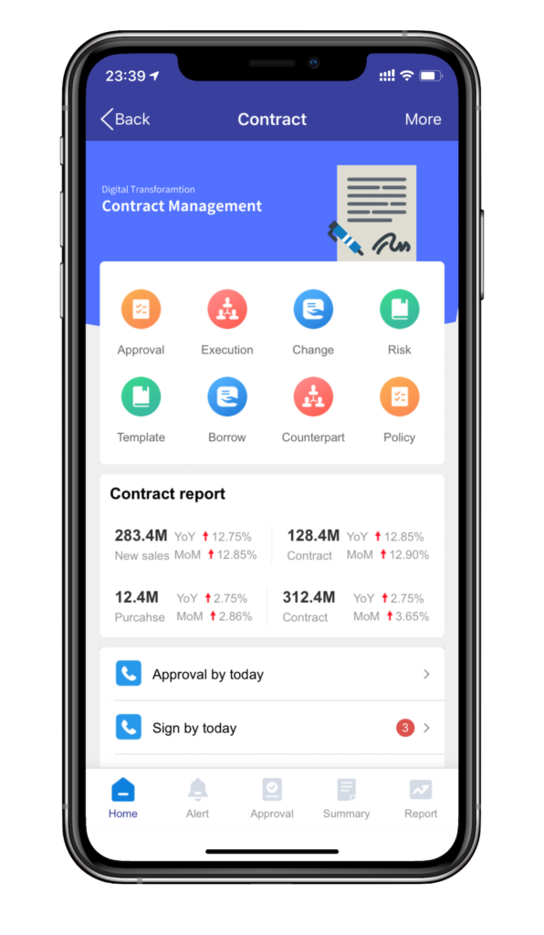 kaptech contract management