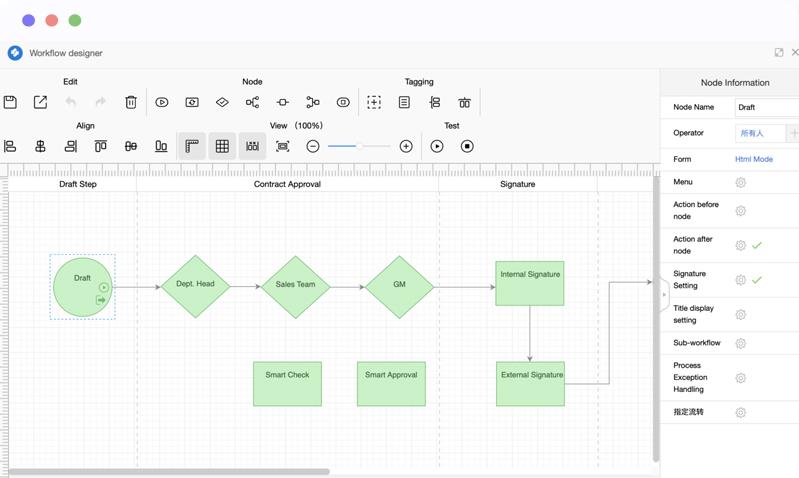 kaptech - workflow designer